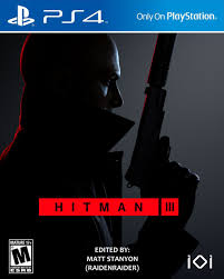 Hitman 3 - PS4 Fan Cover (US Version ...