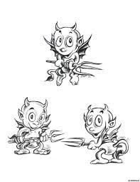 демоны дети эскизы татуировок