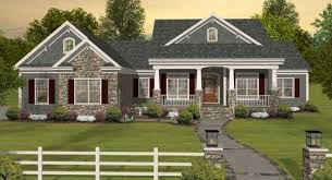 country house plans with porches low
