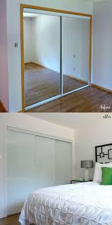Mirrored Sliding Closet Doors Triple Mirror Wardrobe For 97 ...