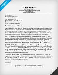 Best Solutions Of Cover Letter Examples Business Analyst For Your