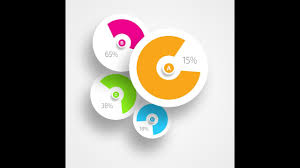 Pie Chart Photoshop Infographic Tutorial In Photoshop Circle Pie Chart