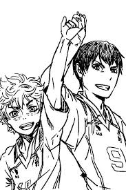 When you're done, you can coloringonline.com is a site where you can colour online colouring pages, coloring books and. Coloring Pages Haikyuu Print For Free Wonder Day