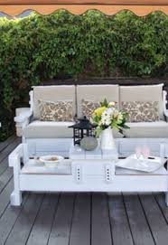 Painted Wood Patio Furniture White Painted Wooden Patio Furniture