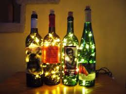 How To Use Wine Bottles For Decoration Decorated Wine Bottles Ideas Room furniture Ideas 75