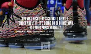 Jason Petrie Shoe Designer Nike Lebron 16 Designer Jason Petrie Is Teasing Big Things
