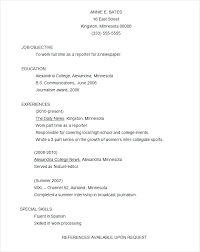 Resume Examples Formats Example Format Of Resume Putasgae Info
