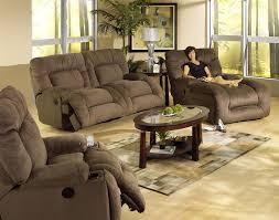Jackpot 2 Piece Power Reclining Sofa Set in Coffee Microfiber
