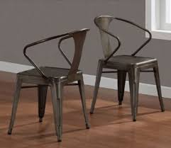 vintage metal dining chairs. Wonderful Chairs Get Quotations  Vintage Tabouret Stacking Chair Set Of 4 Steel Brown  Metal To Metal Dining Chairs R