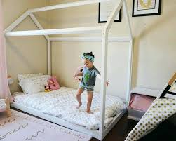 Montessori Bed That Sit On The Floor Double Floor Bed Style Bed Baby ...