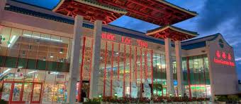 asian garden mall golden dragon in little saigon across the street for dim sum