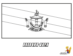 brunei flag coloring pages free at yescoloring