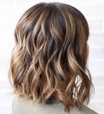 Medium Medium Brown Hair With Honey Highlights L