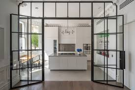 crittall style doors windows and room