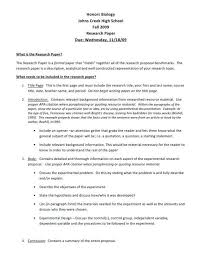 Graduate School Research Paper With Outline Example