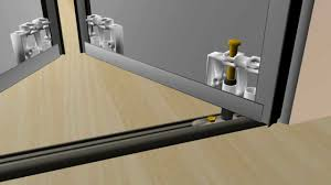 image of bifold closet doors installation plan
