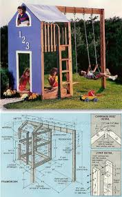Kids Play Structure Plans - Children's Outdoor Plans and Projects |  WoodArchivist.com