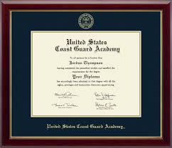 united states coast guard academy gold embossed diploma frame in  united states coast guard academy gold embossed diploma frame in gallery item 208500