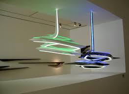 """Vortexx Chandelier: """"infinite ribbon of light"""""""