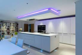Kitchen Drop Ceiling Lighting An Interesting Feature Of This Kitchen Is The Individually
