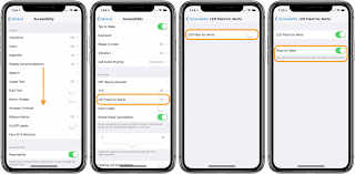 Make Light Flash On Iphone When Phone Rings Accessibility How To Get Visual Flash Alerts For Calls On