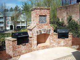 outdoor fireplace plans easy and attractive to look at outdoor brick fireplace grill