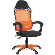 Купить <b>Кресло</b> офисное <b>Chairman game 12</b> оранжевый по супер ...