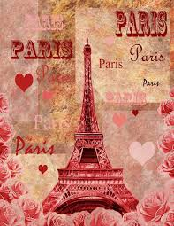 From Paris With Love Journal: - Journal for Notes, Diary, Plans. Cover -  Eiffel Tower watercolor painting by the artist Irina Sztukowski. 160 pages.  Ruled Pages. Size 8.5 x 11 inches. (Volume