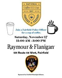 Coffee With A Cop Flyer Coffee With A Cop Event Tapinto