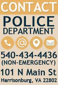 Online Police Reporting City Of Harrisonburg Va