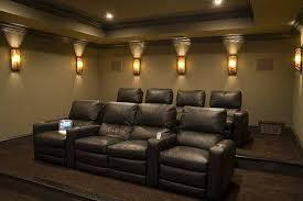 home theater floor lighting. home theater wall sconces lights fixtures inspiring interior lighting brown sofa floor