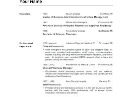 Pharmacist Resume Examples Long Term Care Pharmacist Resume Example