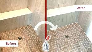 no grout shower tile a fresh laying wood look everywhere or repair home depot gro