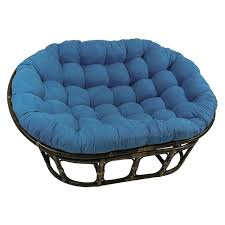 International Caravan Bali Double Papasan Chair with Microsuede Cushion