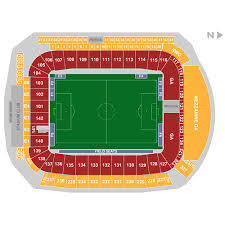 Dignity Sports Park Seating Chart San Jose Earthquakes At Los Angeles Galaxy 2019 07 12 In