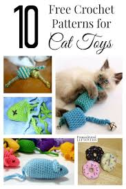 Free Crochet Cat Patterns Extraordinary 48 Free Crochet Patterns For Cat Toys