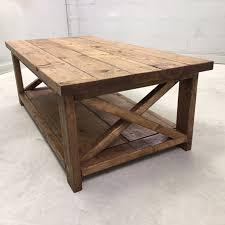 farmhouse coffee table pine main