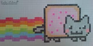 How To Draw Nyan Cat On Graph Paper Rome Fontanacountryinn Com