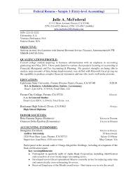 Accounting Resume Samples Free Free Download Examples Entry Level