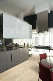 Red Gloss Kitchen Cabinets High Gloss And Matte Lacquered Kitchen Cabinet Doors Gallery