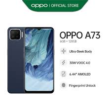 OPPO A73 Smartphone | 6GB RAM + 128GB ROM | 30W VOOC 4.0 | Activate The  Moment