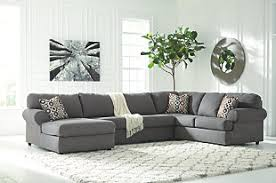 gray sectional sofas. Fine Gray Large Jayceon 3Piece Sectional Steel Rollover To Gray Sectional Sofas L