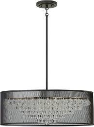 drum lighting modern black drum lighting pendant loading zoom drum shade lights dining room