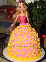 Cool Homemade Birthday Princess Cake