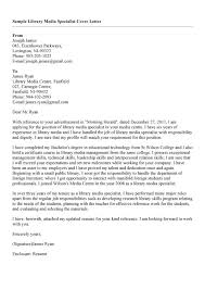 Best Ideas Of Sample Cover Letter For A Library Job Job Cover