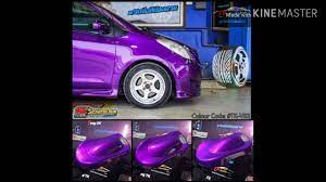 สีม่วงมุกชมพูTK-V53 #รถซิ่งสีต้องสวย By ทีเคคาร์คัลเลอร์ - YouTube