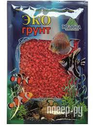 Купить <b>Цветная мраморная крошка Эко</b> грунт 2-5mm 1kg Red ...