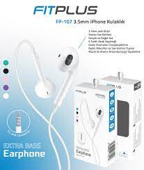 FitPlus Sound Seri iPhone 5/6 Mikrofonlu Kulaklık (3.5mm jak) FP-107