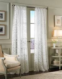 Lace Sheers Traditional Damask Lace Pole Top Curtain Panel Curtainworkscom