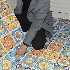 diy mosaic sticker kitchen tile